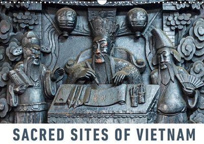 Sacred Sites of Vietnam (Wall Calendar 2019 DIN A3 Landscape), Martin Ristl