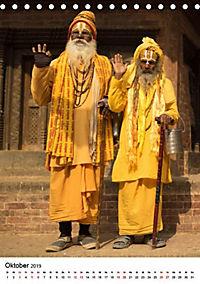 Sadhus - Die heiligen Männer von Nepal (Tischkalender 2019 DIN A5 hoch) - Produktdetailbild 2