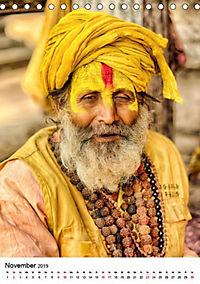 Sadhus - Die heiligen Männer von Nepal (Tischkalender 2019 DIN A5 hoch) - Produktdetailbild 3