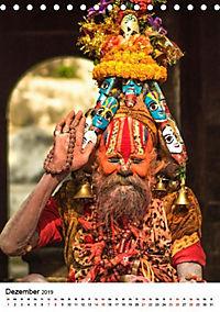 Sadhus - Die heiligen Männer von Nepal (Tischkalender 2019 DIN A5 hoch) - Produktdetailbild 4