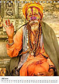Sadhus - Die heiligen Männer von Nepal (Tischkalender 2019 DIN A5 hoch) - Produktdetailbild 11