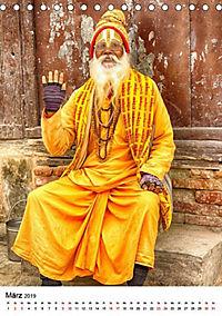 Sadhus - Die heiligen Männer von Nepal (Tischkalender 2019 DIN A5 hoch) - Produktdetailbild 7