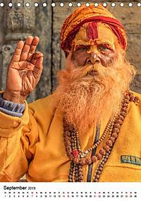 Sadhus - Die heiligen Männer von Nepal (Tischkalender 2019 DIN A5 hoch) - Produktdetailbild 13