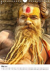 Sadhus - Die heiligen Männer von Nepal (Wandkalender 2019 DIN A4 hoch) - Produktdetailbild 5
