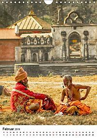 Sadhus - Die heiligen Männer von Nepal (Wandkalender 2019 DIN A4 hoch) - Produktdetailbild 2