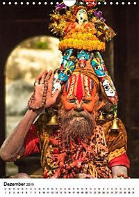 Sadhus - Die heiligen Männer von Nepal (Wandkalender 2019 DIN A4 hoch) - Produktdetailbild 12