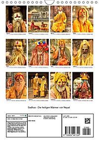 Sadhus - Die heiligen Männer von Nepal (Wandkalender 2019 DIN A4 hoch) - Produktdetailbild 13