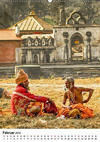 Sadhus - Die heiligen Männer von Nepal (Wandkalender 2019 DIN A2 hoch) - Produktdetailbild 2