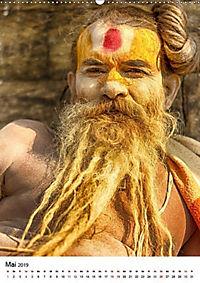 Sadhus - Die heiligen Männer von Nepal (Wandkalender 2019 DIN A2 hoch) - Produktdetailbild 5