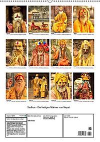 Sadhus - Die heiligen Männer von Nepal (Wandkalender 2019 DIN A2 hoch) - Produktdetailbild 13