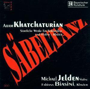 Säbeltanz - Sämtliche Werke für Soloklavier und Violine - Klavier, Michael Jelden, Fabiana Biasini