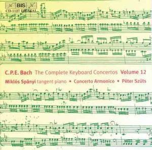 Sämtl. Klavierkonzerte Vol. 12, Miklos Spanyi, Concerto Armonico