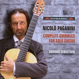 Sämtliche Ghiribizzi Für Gitarre (Ga), Adriano Sebastiani