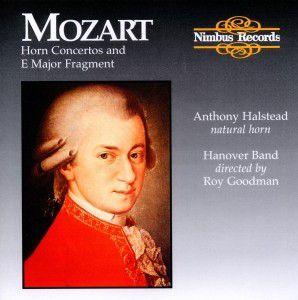 Sämtliche Hornkonzerte 1-4 (Ga), Anthony Halstaed, Goodman, Hanover Band