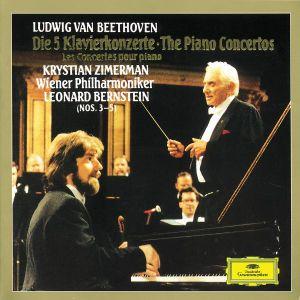 Sämtliche Klavierkonzerte 1-5 (Ga), Krystian Zimerman, L. Bernstein, Wp