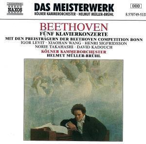 Sämtliche Klavierkonzerte 1-5 (Ga), Helmut Müller-Brühl, Kölner Kammerorchester