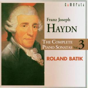 Sämtliche Klaviersonaten Vol.3, Roland Batik