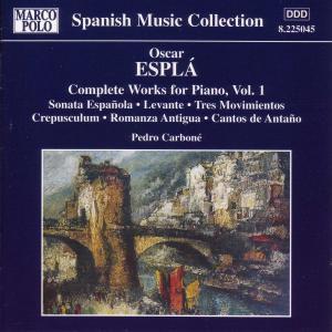 Sämtliche Klavierwerke Vol.1, Pedro Carboné