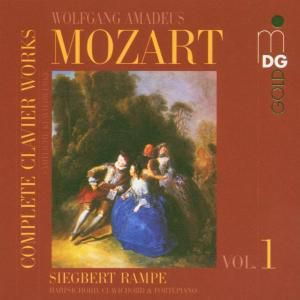 Sämtliche Klavierwerke Vol. 1, Siegbert Rampe