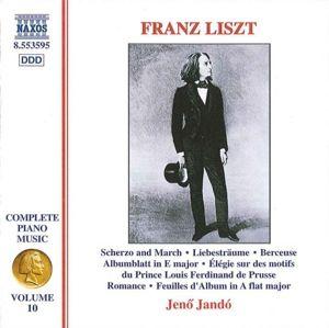 Sämtliche Klavierwerke Vol.10, Jenö Jando