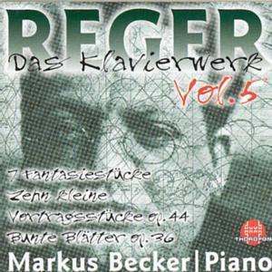 Sämtliche Klavierwerke Vol. 5, Markus Becker