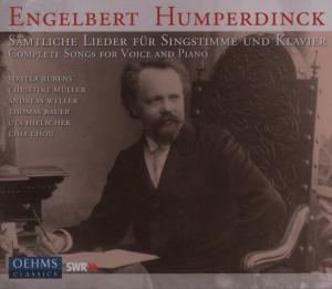 Sämtliche Lieder Singstimme/Klavier (Ga), Rubens, Mueller, Bauer