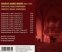Sämtliche Orgelsymphonien - Produktdetailbild 1
