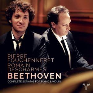 Sämtliche Sonaten Für Piano & Violine, Romain Descharmes, Pierre Fouchenneret