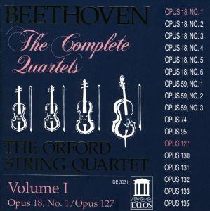 Sämtliche Streichquartette Vol.1, Orford String Quartet
