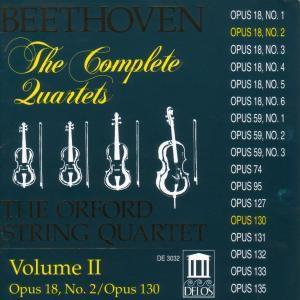 Sämtliche Streichquartette Vol.2, Orford String Quartet