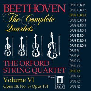 Sämtliche Streichquartette Vol.6, Orford String Quartet
