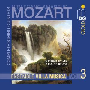 Sämtliche Streichquintette Vol. 3, Ensemble Villa Musica