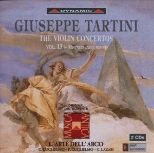 Sämtliche Violinkonzerte Vol.13, L'Arte Dell'Arco, G. Guglielmo