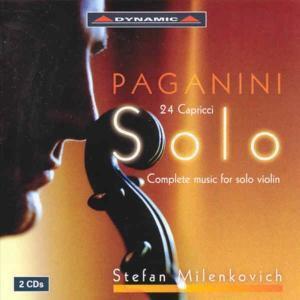 Sämtliche Werke Für Violine Solo (Ga), Stefan Milenkovich