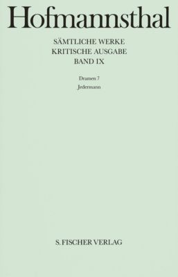 Sämtliche Werke, Kritische Ausg.: Bd.9 Dramen, Hugo von Hofmannsthal