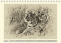 Safari - auf Katzensuche (Tischkalender 2019 DIN A5 quer) - Produktdetailbild 8