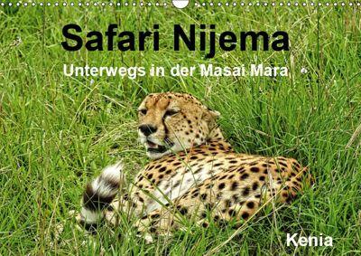 Safari Nijema - Unterwegs in der Masai Mara (Wandkalender 2019 DIN A3 quer), Susan Michel /CH