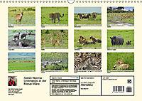 Safari Nijema - Unterwegs in der Masai Mara (Wandkalender 2019 DIN A3 quer) - Produktdetailbild 13