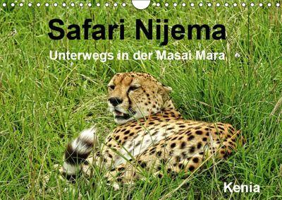 Safari Nijema - Unterwegs in der Masai Mara (Wandkalender 2019 DIN A4 quer), Susan Michel /CH