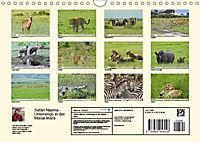 Safari Nijema - Unterwegs in der Masai Mara (Wandkalender 2019 DIN A4 quer) - Produktdetailbild 13