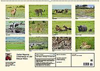 Safari Nijema - Unterwegs in der Masai Mara (Wandkalender 2019 DIN A2 quer) - Produktdetailbild 13