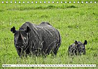 Safari Nijema - Unterwegs in der Masai Mara (Tischkalender 2019 DIN A5 quer) - Produktdetailbild 8