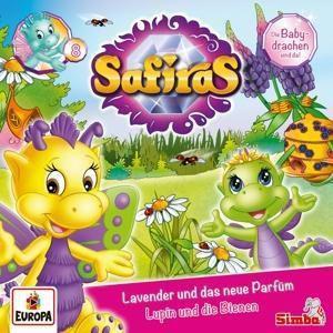 Safiras - Lavender und das neue Parfüm / Lupin und die Bienen, 1 Audio-CD, Safiras