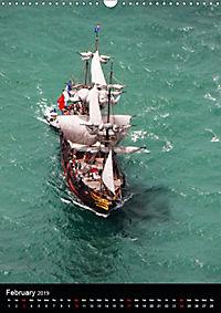 Sailboats seen from the air (Wall Calendar 2019 DIN A3 Portrait) - Produktdetailbild 2