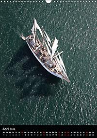 Sailboats seen from the air (Wall Calendar 2019 DIN A3 Portrait) - Produktdetailbild 4