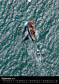 Sailboats seen from the air (Wall Calendar 2019 DIN A3 Portrait) - Produktdetailbild 9