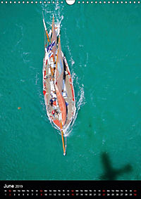 Sailboats seen from the air (Wall Calendar 2019 DIN A3 Portrait) - Produktdetailbild 6