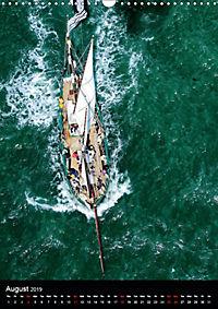 Sailboats seen from the air (Wall Calendar 2019 DIN A3 Portrait) - Produktdetailbild 8