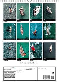 Sailboats seen from the air (Wall Calendar 2019 DIN A3 Portrait) - Produktdetailbild 13