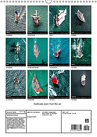 Sailboats seen from the air (Wall Calendar 2019 DIN A3 Portrait) - Produktdetailbild 13
